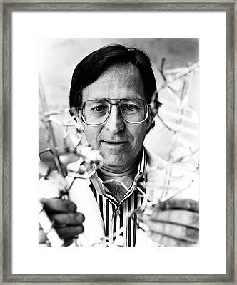 Mark Ptashne Framed Print by National Cancer Institute