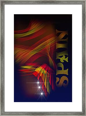 Mark Spain Framed Print