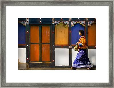 Framed Print featuring the digital art Market Brake by Angelika Drake