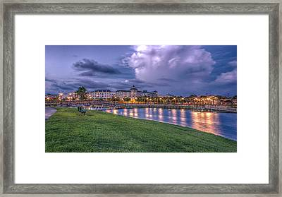 Market Commons Framed Print by Rob Sellers