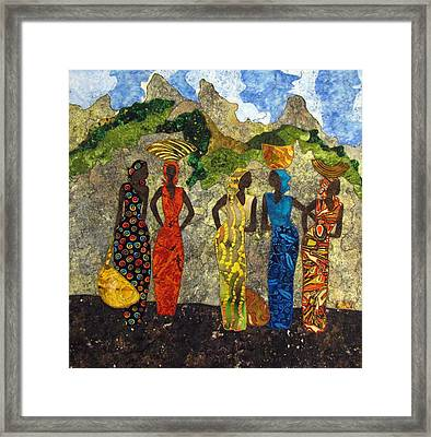 Market Day #2 Framed Print