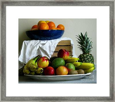 Market Day 5 Framed Print