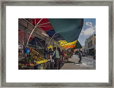 Market Day Framed Print