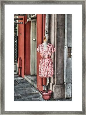 Market Fashion Framed Print by Brenda Bryant