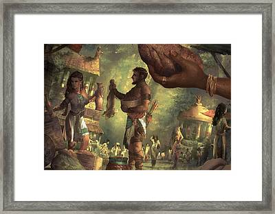 Market Festival Framed Print by Ryan Barger