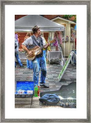 Market Image 26 Framed Print by David Bearden