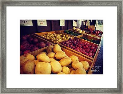 Framed Print featuring the photograph Market by Sarah Mullin