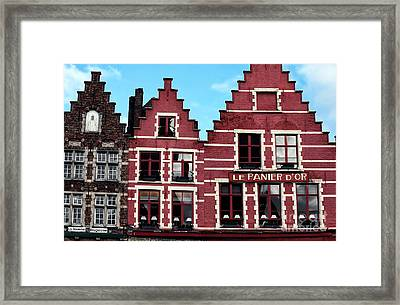 Market Square Shapes Framed Print by John Rizzuto