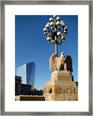 Framed Print featuring the photograph Market Street Bridge by Christopher Woods