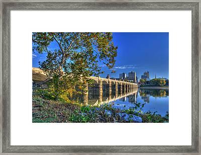 Market Street Bridge Framed Print