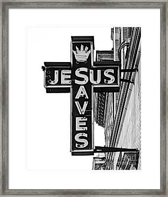 Market Street Mission Framed Print