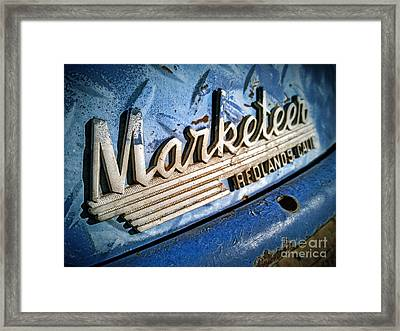 Marketeer Framed Print by Pam Vick