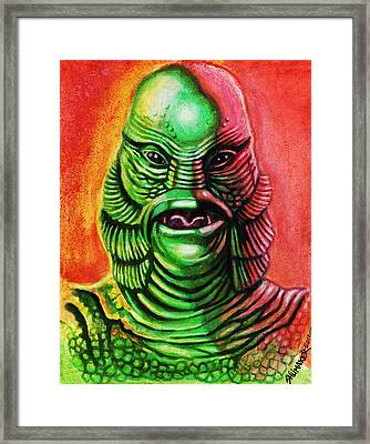 Mark's Creature From The Black Lagoon Framed Print