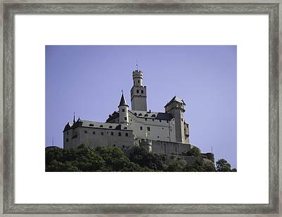 Marksburg Castle 18 Framed Print