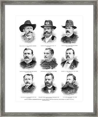 Marksmen, 1890 Framed Print by Granger