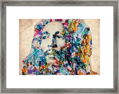 Marley 2 Framed Print by Bekim Art