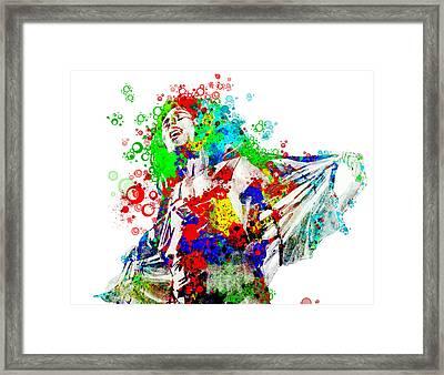 Marley 5 Framed Print