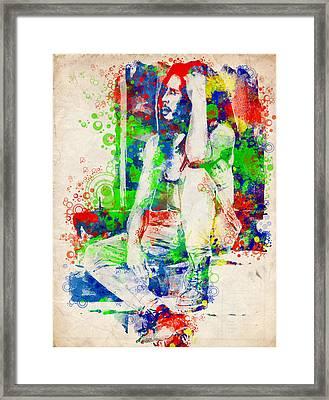 Marley 7 Framed Print
