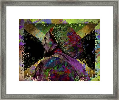 Marley 9 Framed Print