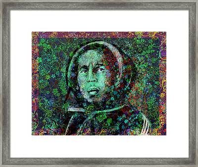 Marley Floral Version 2 Framed Print