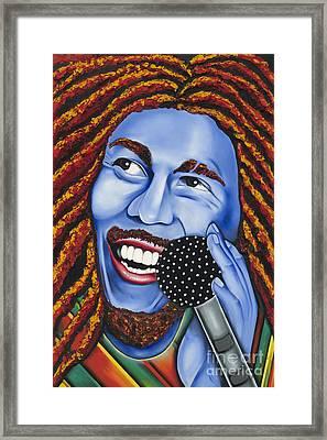 Marley Framed Print by Nannette Harris