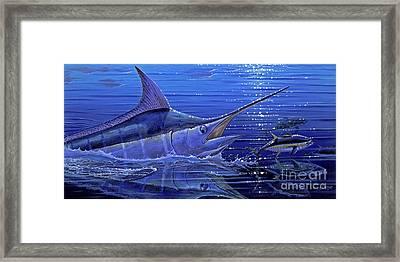 Marlin Mirror Off0022 Framed Print