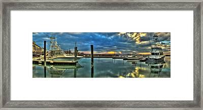 Marlin Quay Marina Framed Print by Ed Roberts