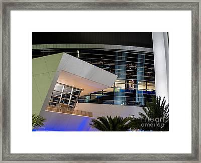Marlins Park Stadium Miami 6 Framed Print by Rene Triay Photography