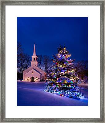 Marlow Christmas Framed Print by Michael Blanchette