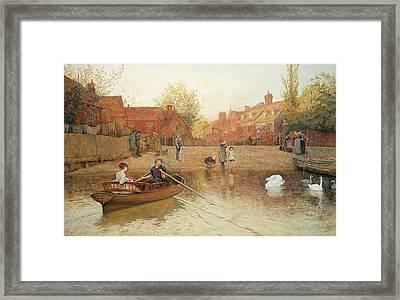Marlow Ferry Framed Print