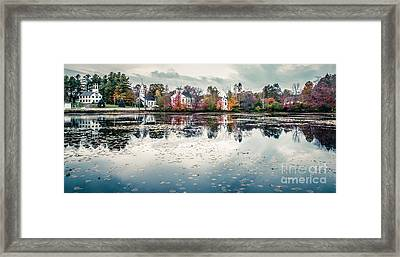 Marlow New Hampshire  Framed Print by Edward Fielding