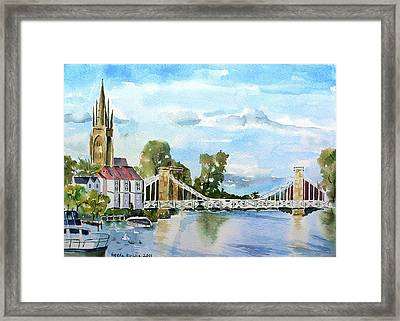 Marlow On Thames 2 Framed Print