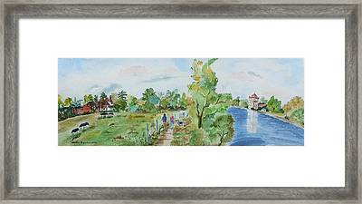 Marlow On Thames 3 Framed Print