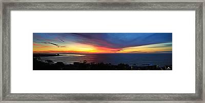 Marmalade Skies Framed Print