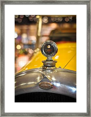 Marmon In Yellow Framed Print by Ronda Broatch