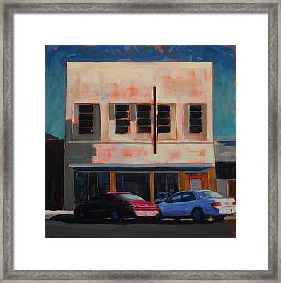 Maroon Framed Print by Richard  Willson