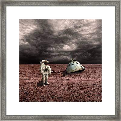 Marooned No.3  Framed Print by Marc Ward