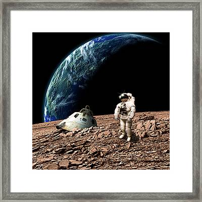 Marooned No.4 Framed Print by Marc Ward
