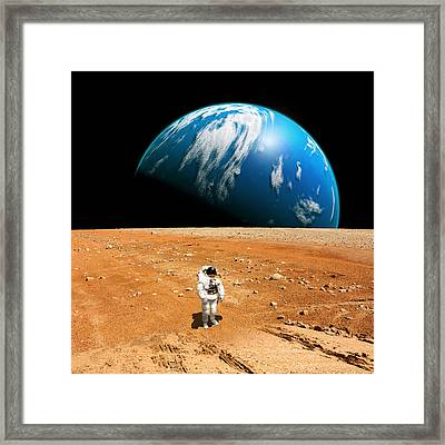 Marooned No.6 Framed Print by Marc Ward