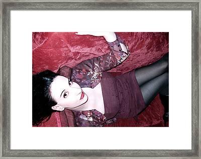 Marooned - Self Portrait Framed Print by Jaeda DeWalt