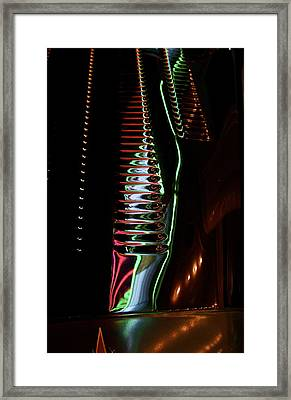 Framed Print featuring the photograph Marquee Reflection by John Babis