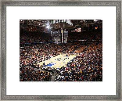 Marquette Golden Eagles Bmo Harris Bradley Center Framed Print by Replay Photos
