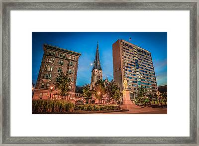 Marquette In Time Framed Print