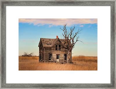 Marquette Kansas Framed Print