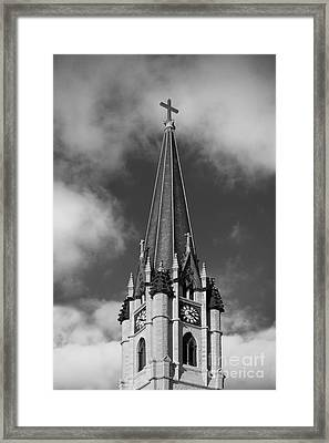 Marquette University - Church Of The Gesu Framed Print by University Icons