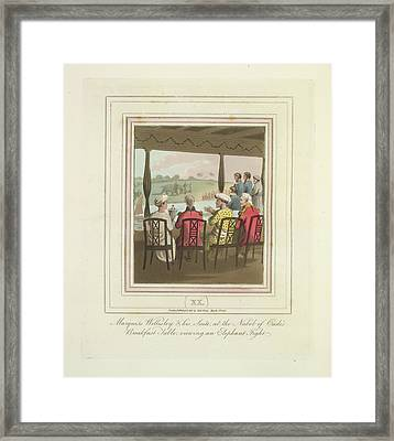 Marquis Wellesley Framed Print by British Library
