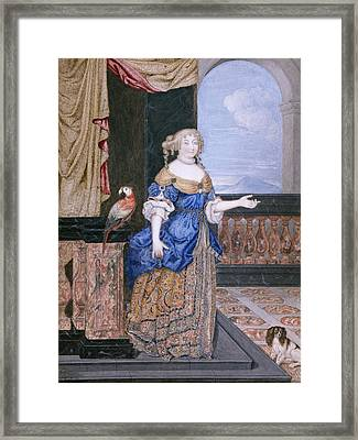 Marquise De Montespan (1641-1707) Framed Print by Granger