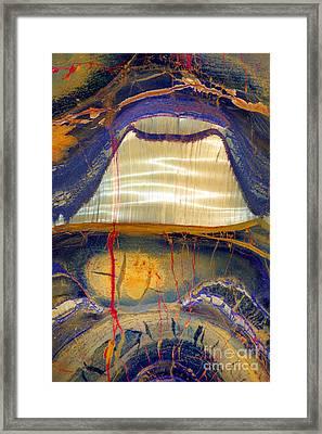 Marra Mamba Tiger Eye Framed Print by Douglas Taylor
