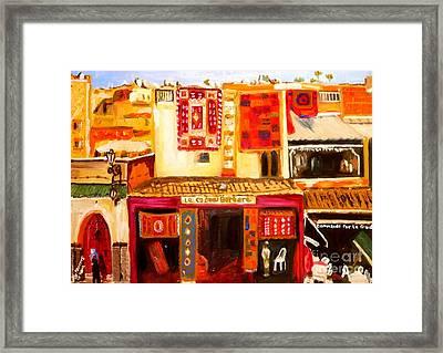 Marrakech Framed Print by Judy Morris
