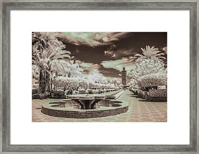 Marrakech - La Koutoubia Framed Print